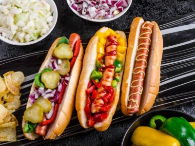 Amerikanske hotdogs