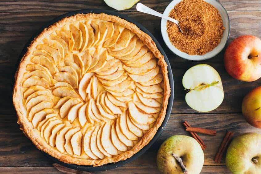 Nemmeste æbletærte
